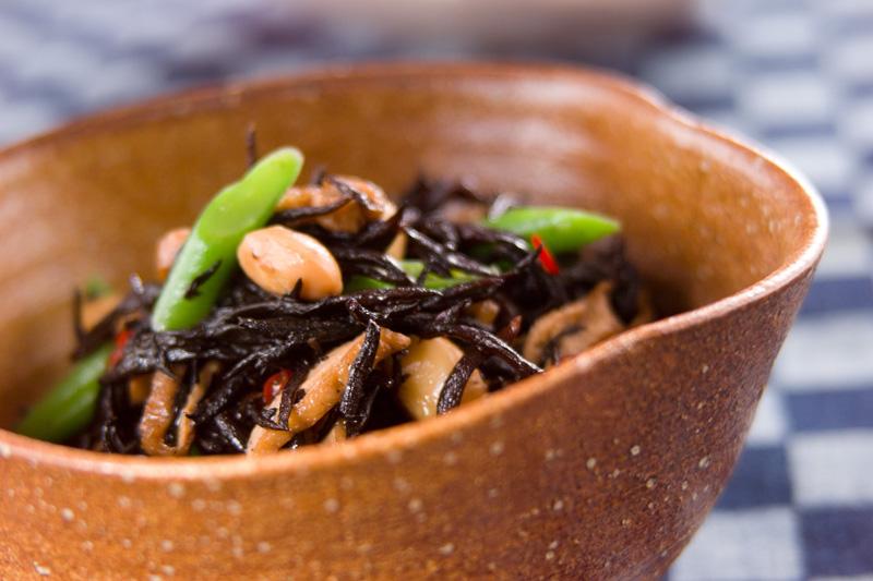大豆とひじきの煮物の作り方の手順