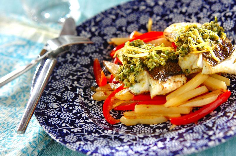 モロッコ風魚のソテーの作り方の手順