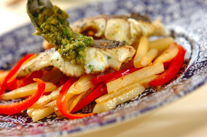 モロッコ風魚のソテーの作り方の手順8