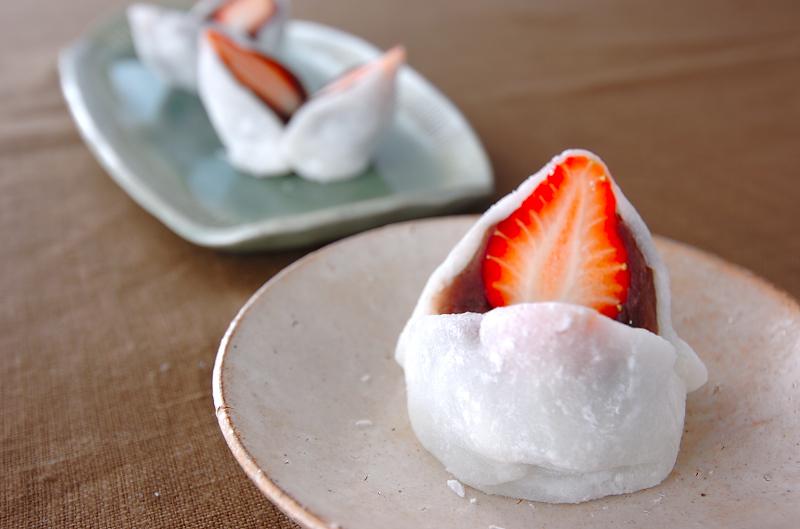 イチゴ大福の作り方の手順