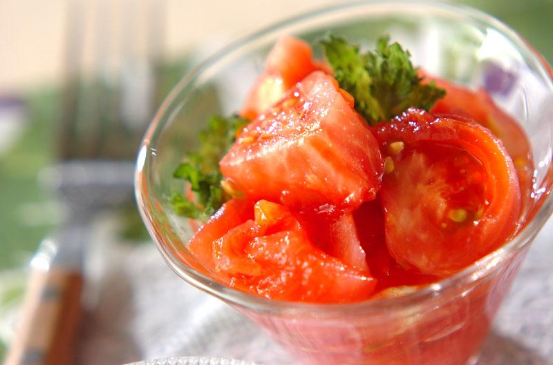 冷やしトマト【E・レシピ】料理のプロが作る簡単レシピ/2014.06.23公開のレシピです。