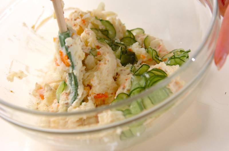 シンプルポテトサラダの作り方の手順10
