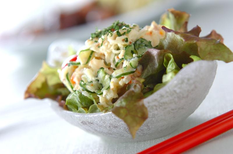 シンプルポテトサラダの作り方の手順