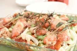 豚バラ肉と野菜のオーブン焼きの作り方の手順