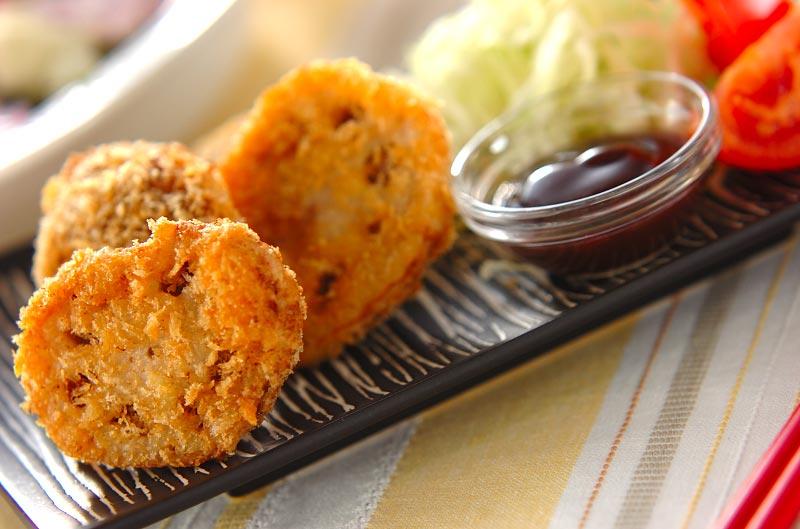 レンコンのひき肉フライ【E・レ...
