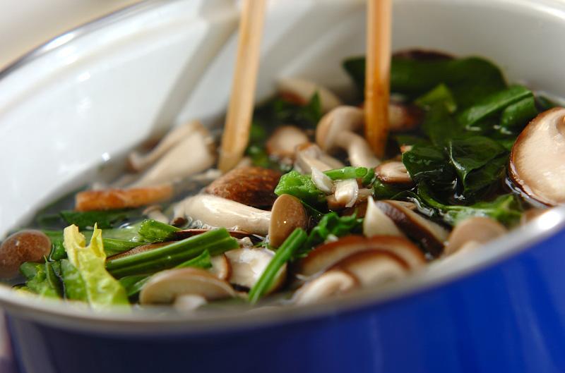 キノコのお浸しの作り方の手順5