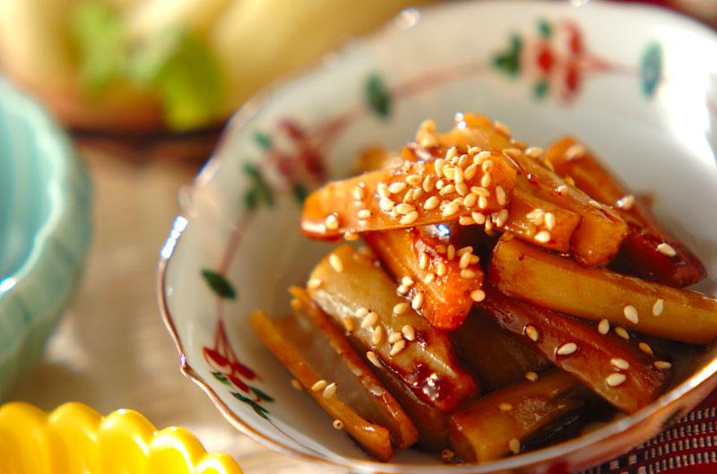 レンコンの炒め物