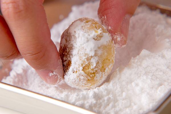 ほろほろ雪クッキーの作り方の手順6