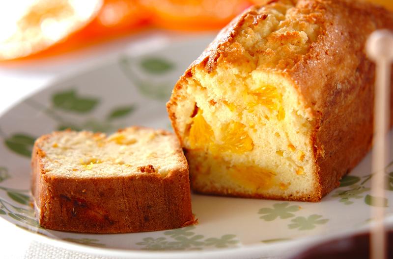 さわやかな香り!フレッシュオレンジのパウンドケーキ