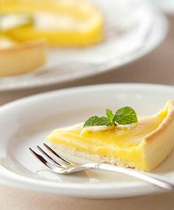 レモンのタルトの作り方の手順