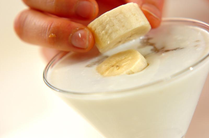 タピオカ入りココナッツのデザートの作り方の手順4