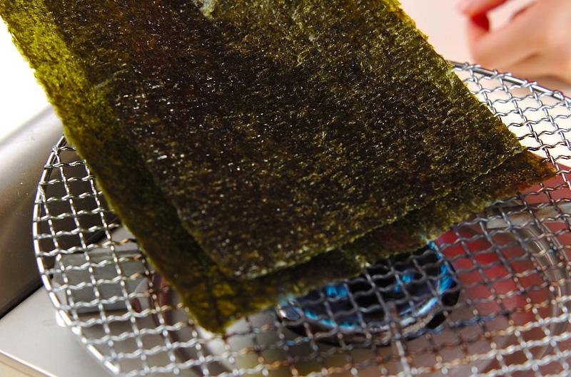 韓国風焼きのりの作り方の手順2