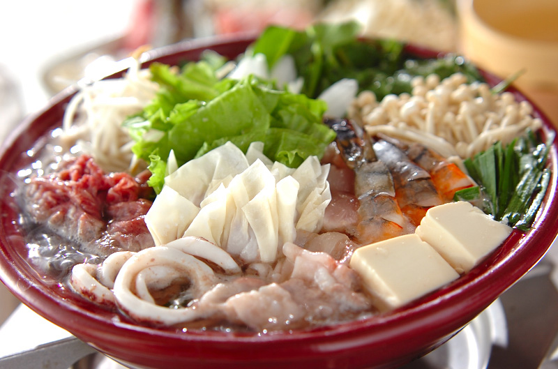 タイ風ちゃんこ鍋の作り方の手順