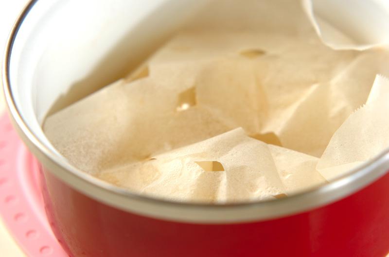 梨の白ワイン煮の作り方の手順4