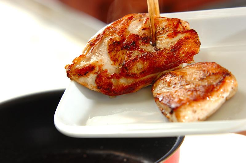 チキンソテーのクリームソース煮の作り方の手順8
