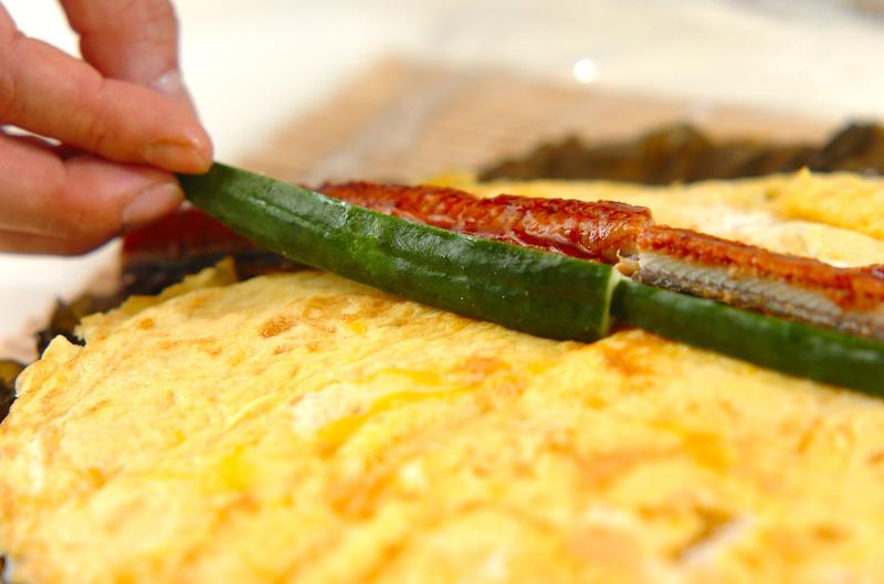 野沢菜のり巻きの作り方の手順6