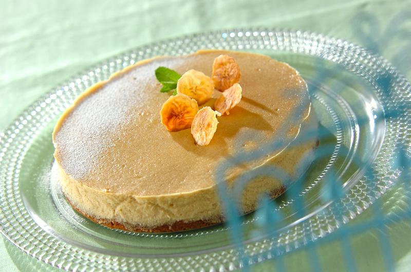 バナナチーズケーキの作り方の手順