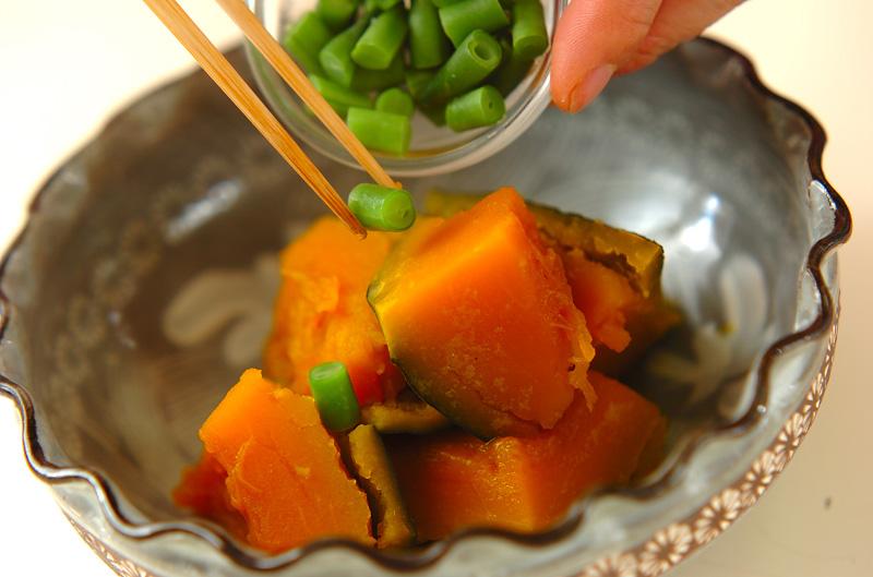 簡単カボチャの煮物の作り方の手順4