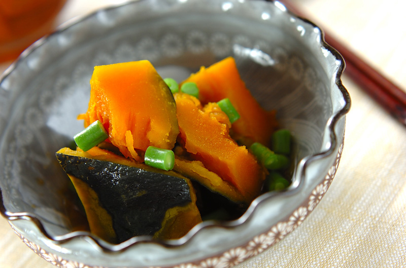 簡単カボチャの煮物