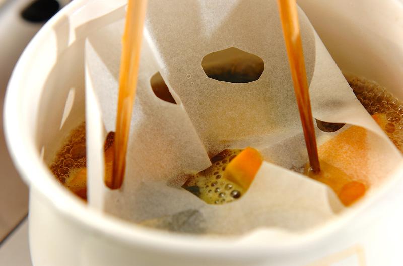 簡単カボチャの煮物の作り方の手順3