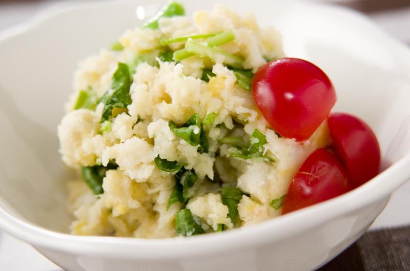 里芋のピリ辛サラダ