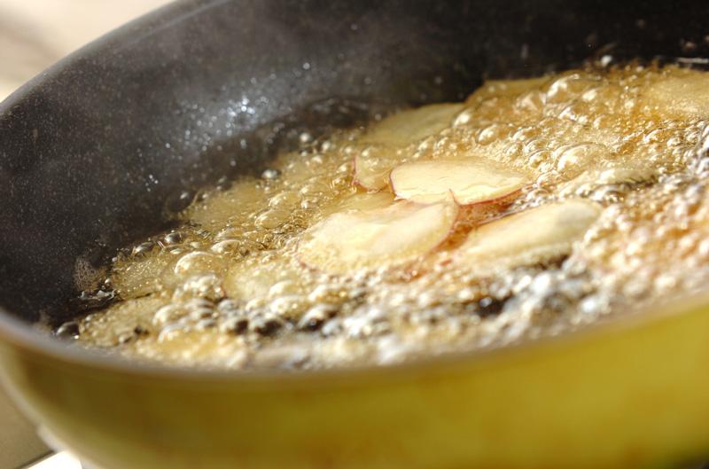 おさつチップスの作り方の手順3