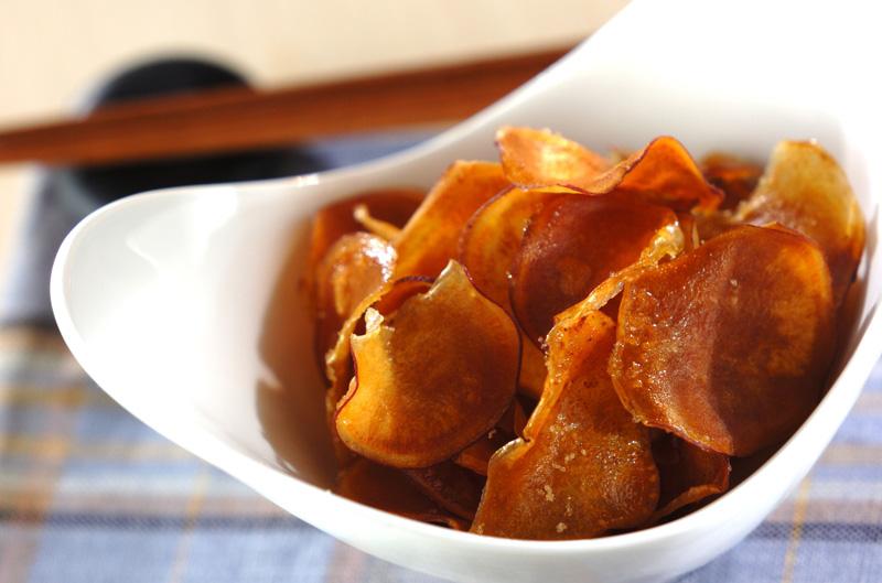 おさつチップスの作り方の手順