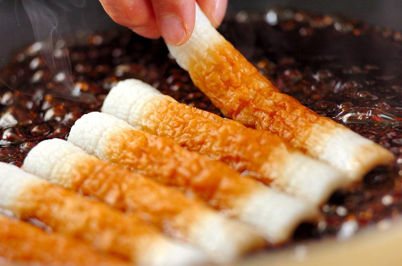 ちくわの蒲焼きの作り方の手順2