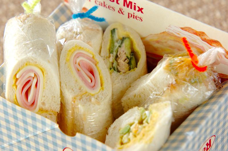 サンドイッチロールの作り方の手順