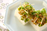 薬味肉豆腐