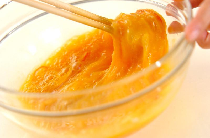 絶品!簡単ふわトロ天津飯の作り方の手順1