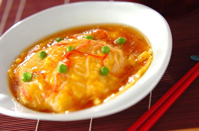 絶品!簡単ふわトロ天津飯の作り方の手順