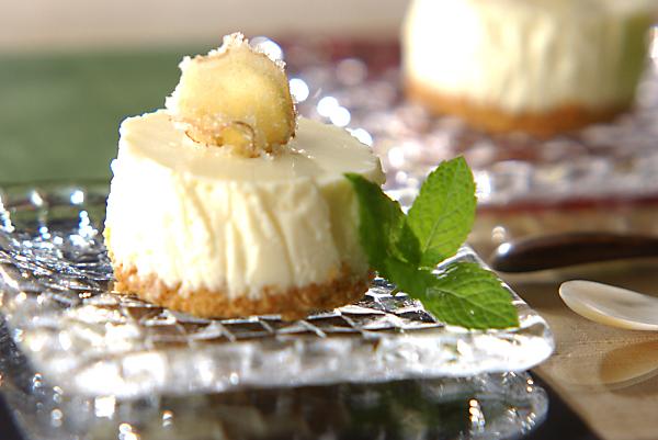ジンジャーレアヨーグルトケーキの作り方の手順