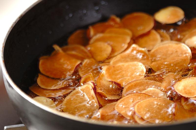 おさつチョコチップの作り方2