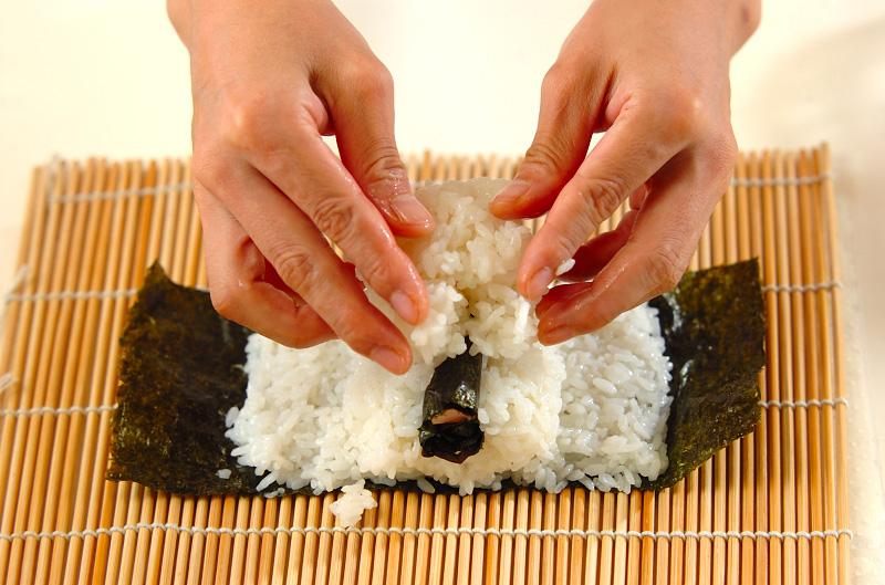 コアラちゃんデコ巻き寿司の作り方の手順11