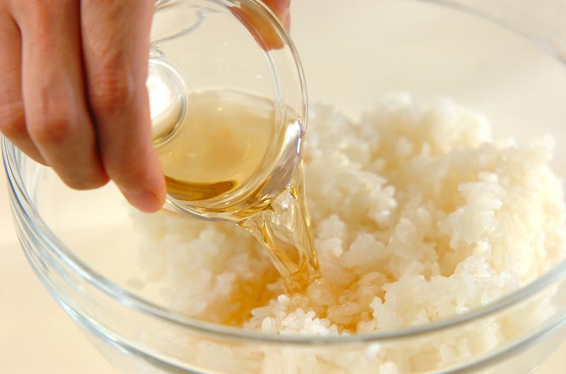 コアラちゃんデコ巻き寿司の作り方の手順2