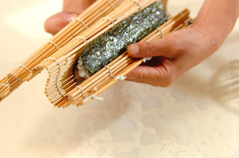 コアラちゃんデコ巻き寿司の作り方の手順12