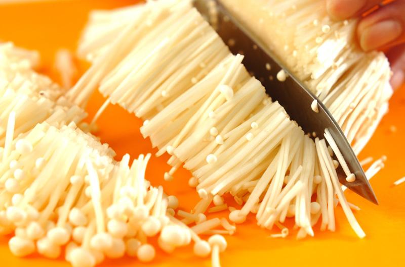 おろしナメタケの作り方の手順1