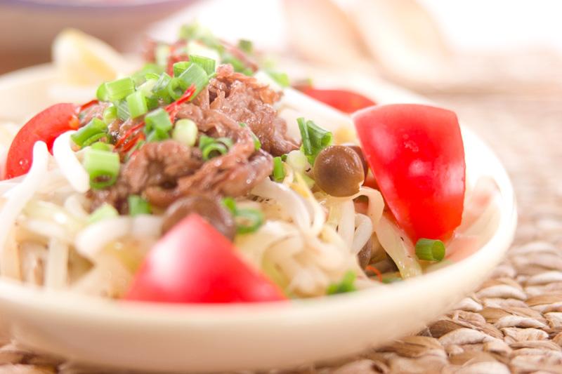 アジア風牛肉サラダ
