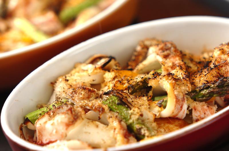 イカと野菜のオーブン焼きの作り方の手順9