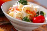 キャベツのサラダの作り方の手順