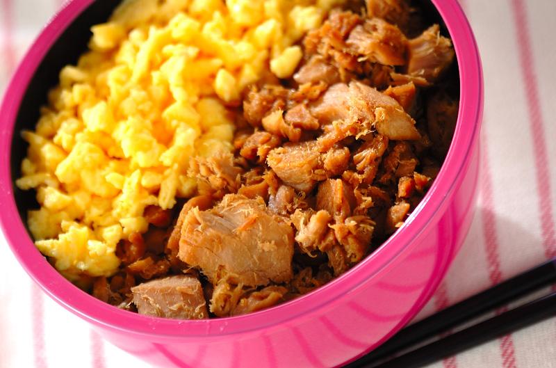 ツナそぼろご飯の作り方の手順