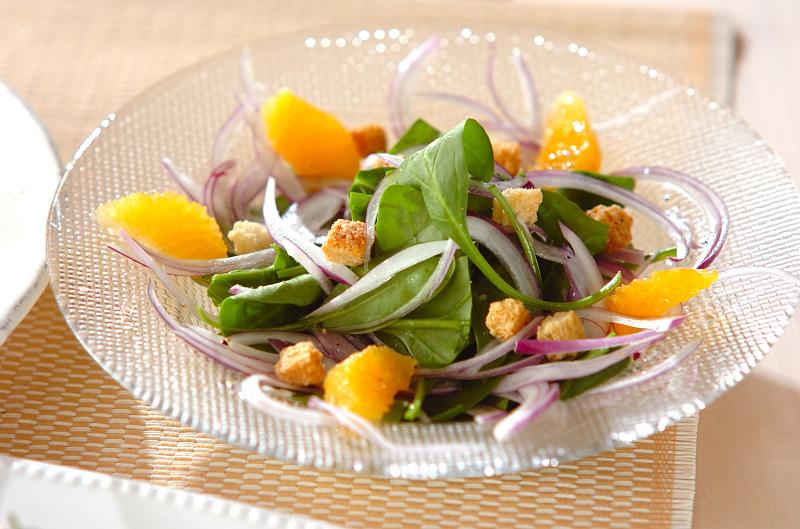 ホウレン草のサラダ