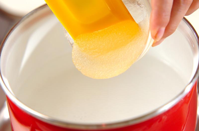 トロトロ杏仁ドリンクの作り方の手順2