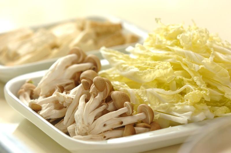 トロトロ白菜の卵とじの作り方の手順1