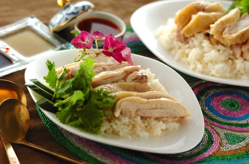 3種のタレで本場の味!炊飯器でつくるシンガポールチキンライス