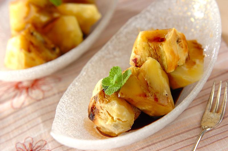 バルサミコソース焼き芋