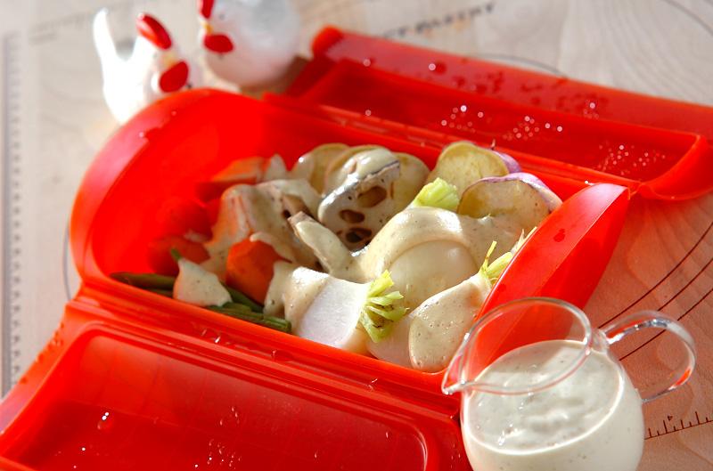 塩麹豆腐ドレッシング