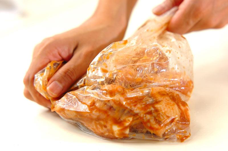 鶏のラクチン唐揚げの作り方の手順1