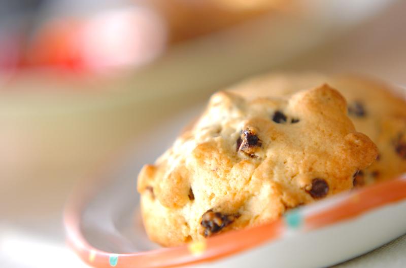 レーズンクッキーの作り方の手順